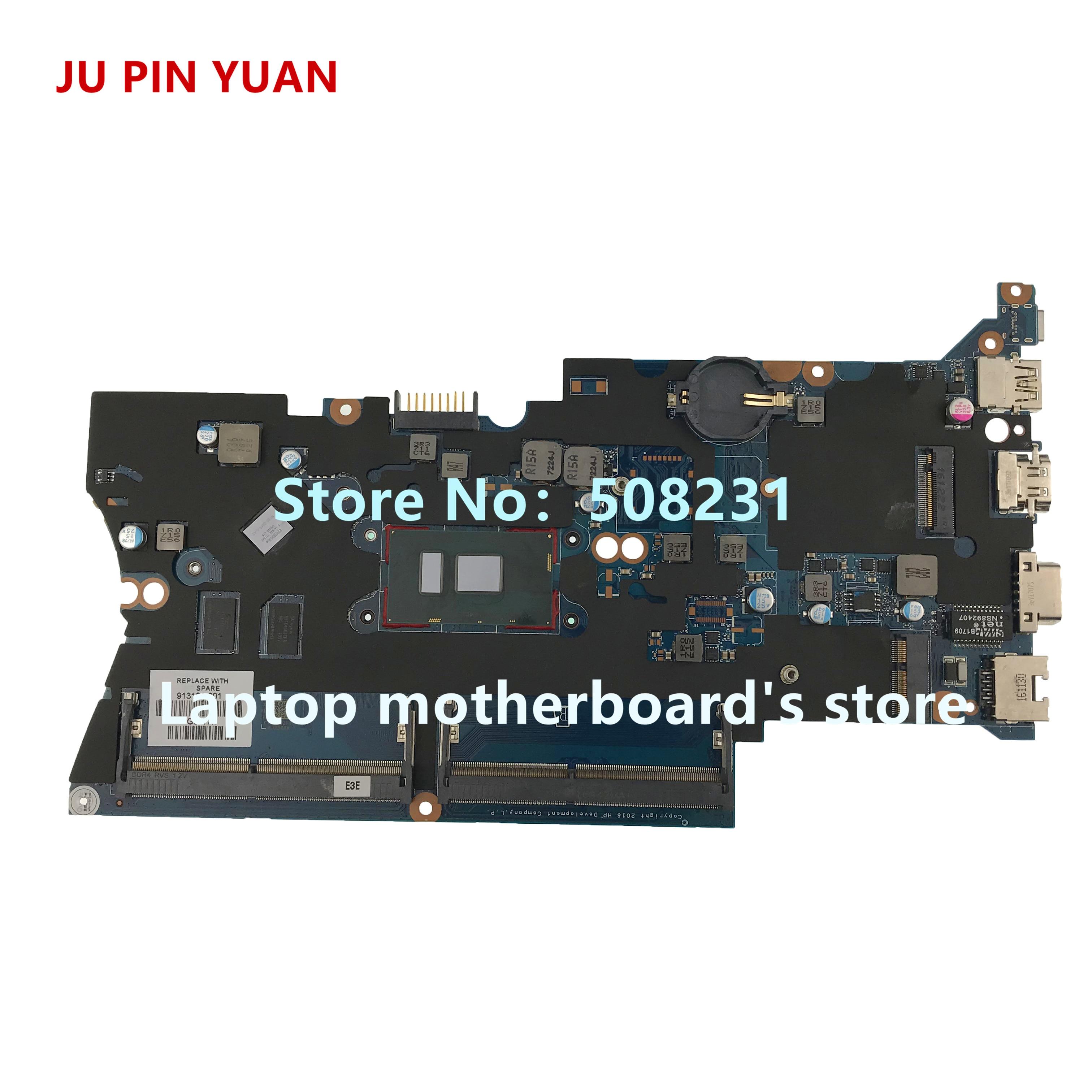 JU PIN YUAN  913101-601 913101-001 DA0X81MB6E0 Laptop motherboard For HP ProBook 430 G4 440 G4 Notebook PC I7-7500U fully TestedJU PIN YUAN  913101-601 913101-001 DA0X81MB6E0 Laptop motherboard For HP ProBook 430 G4 440 G4 Notebook PC I7-7500U fully Tested
