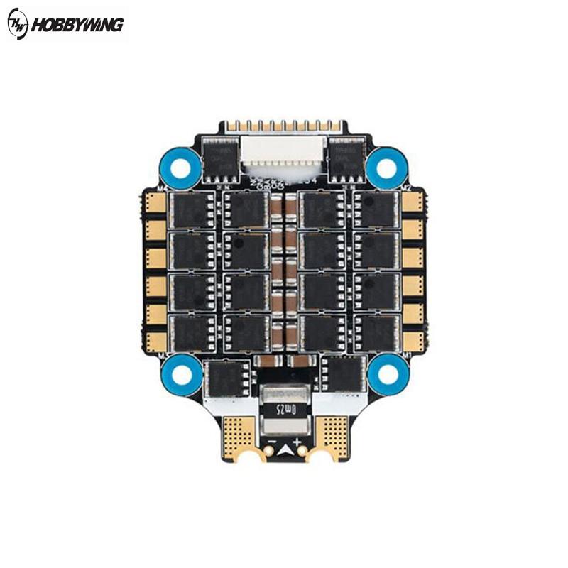 Hobbywing XRotor Micro 60A 3-6 S Blheli_32 DSHOT1200 4 IN1 Brushless ESC para RC Zangão FPV Corrida 30.5x30.5 milímetros