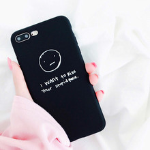 XINDIMAN Black cover shell for iphoneX case silicone TPU phone fundas iphone6 6s 6plus capa iphone 7 7plus 8 8plus