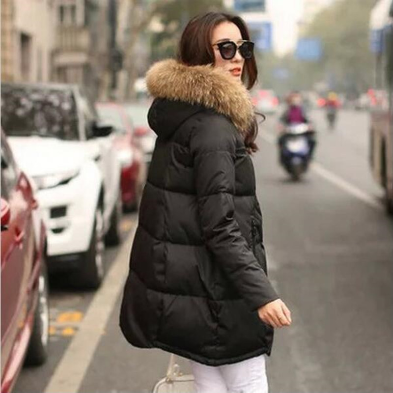 De La D'hiver Parkas Plus Pour 1 2 Capuchon Nouvelles 5 Femelle 5xl Manteau Col À Mujer 4 Survêtement 2018 Taille Fourrure Femmes 3 Veste AaqfSSP