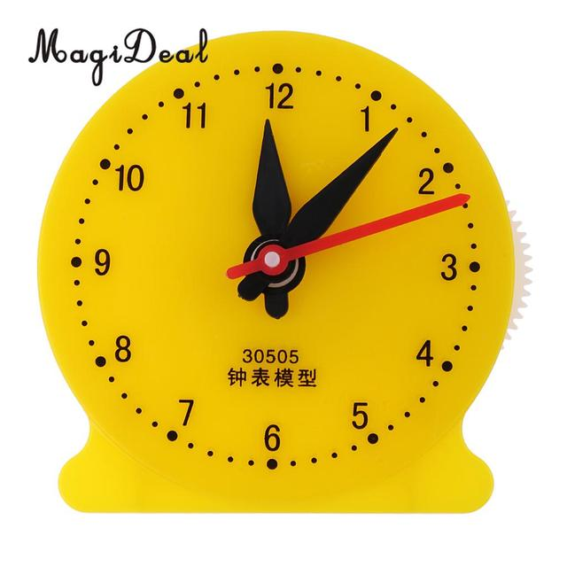 US $2.54 22% OFF|Students Math Children Teaching Clock Model Learning To  Tell Time Educational Math Mathematics Toy Clock School Supplies-in Math  Toys ...