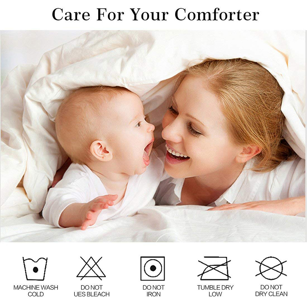 Turetrip All Size Smooth Zipper Waterproof Mattress Cover Bed Bug Proof Mattress Protector Fully Cover Mattress Encasement