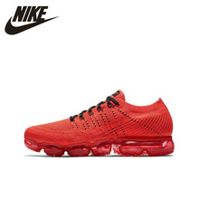 купить Nike Air Vapormax Flyknit Original New Arrival Men Running Shoes Sports Outdoor Breathable Sneakers #849558 дешево