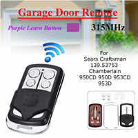4 Button Garage Door Remote Control 315MHz For Sears Craftsman 139.53753 HBW2028