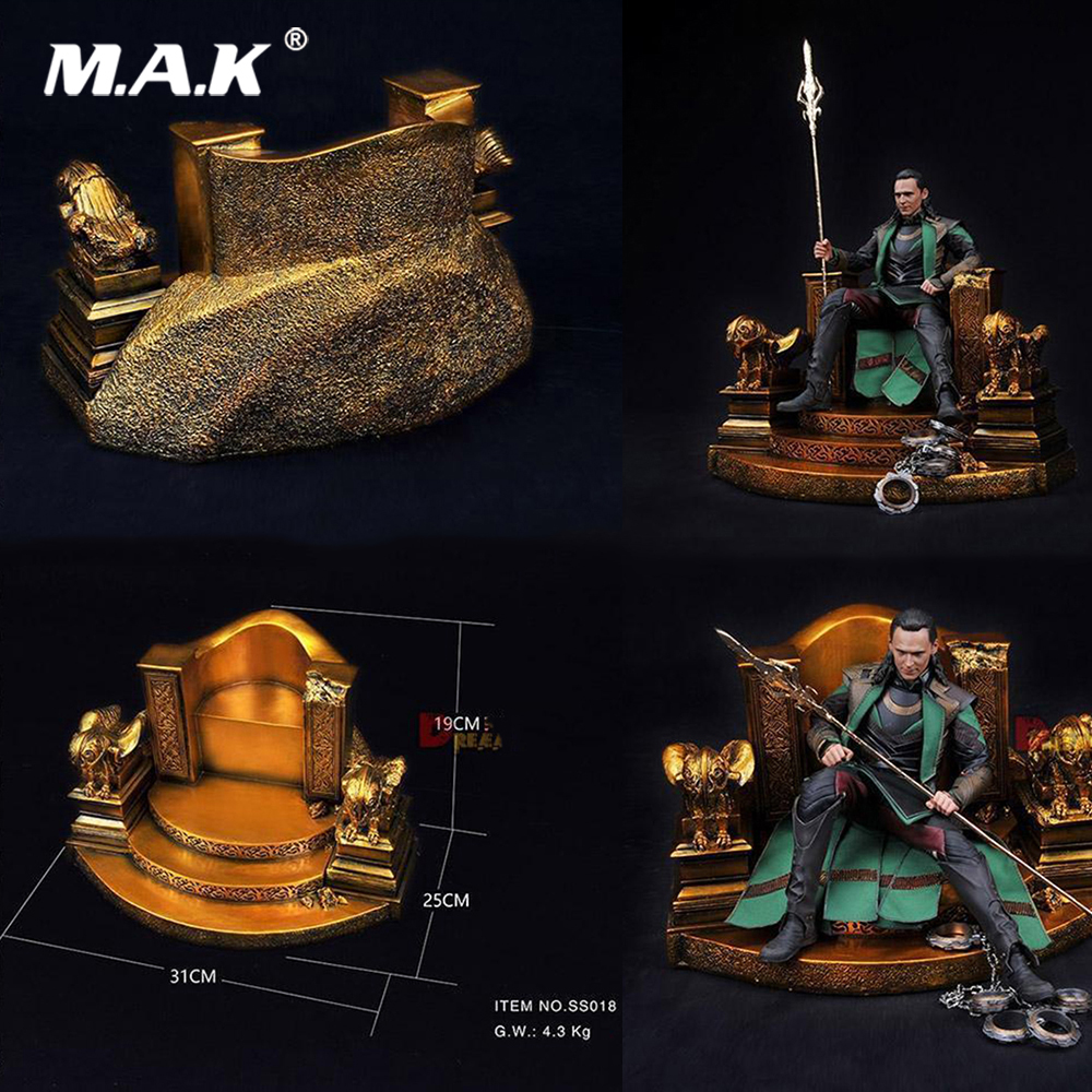 SS018 1:6 Scale Figure Scene Accessory Odin Throne Model Scene Chair Base Station Model Toys for 12 Action Figure Collection SS018 1:6 Scale Figure Scene Accessory Odin Throne Model Scene Chair Base Station Model Toys for 12 Action Figure Collection