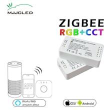 ZIGBEE LED Controller RGB CCT WW CW Zigbee DC 12V 24V Strip ZLL App RGBW