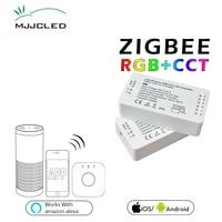 ZIGBEE LED Controller RGB CCT WW CW Zigbee Controller LED DC 12V 24V LED Strip Controller ZLL App Controller RGBW RGB