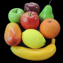 8 X искусственный банан поддельные фрукты искусственного Еда дома Кухня вечерние Hotel свадебные AU