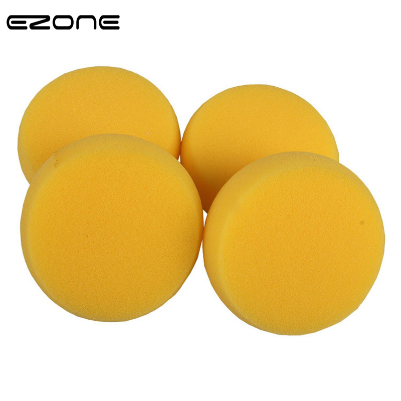 EZONE 2PCS Round Painting Sponge For Children Watercolor Oil Painting Craft Clay Pottery Sculpture Cleaning Art Drawing Tools