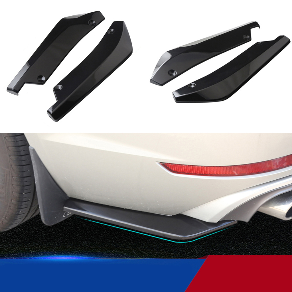 For Toyota Yaris MK1 Front Bumper Cup  Spoiler Lip Sport Valance Trim Splitter/_