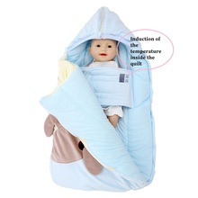 все цены на 2019 Winter Newborn Sleeping Bag Baby Stroller Swaddle Wrap Blankets Warm Infant Bebe Sleep Sack Envelope blanket  0-12Months онлайн