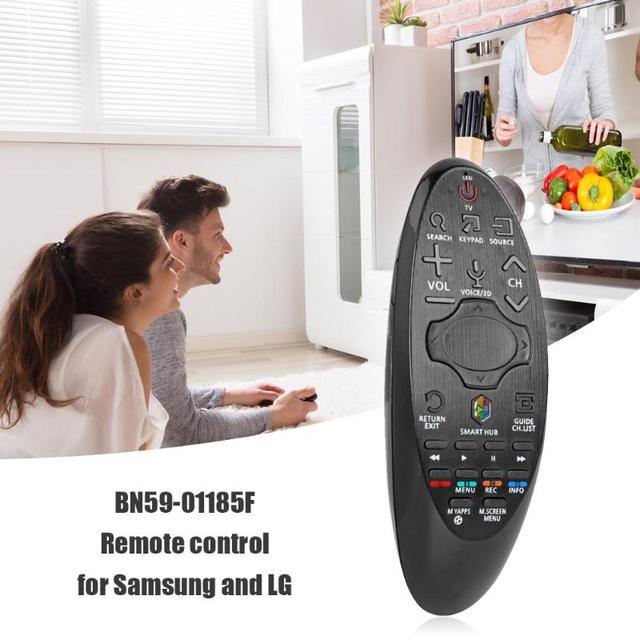Télécommande Compatible pour Samsung et LG Smart TV BN59 01185F BN59 01185D BN59 01184D BN59 01182D Noir