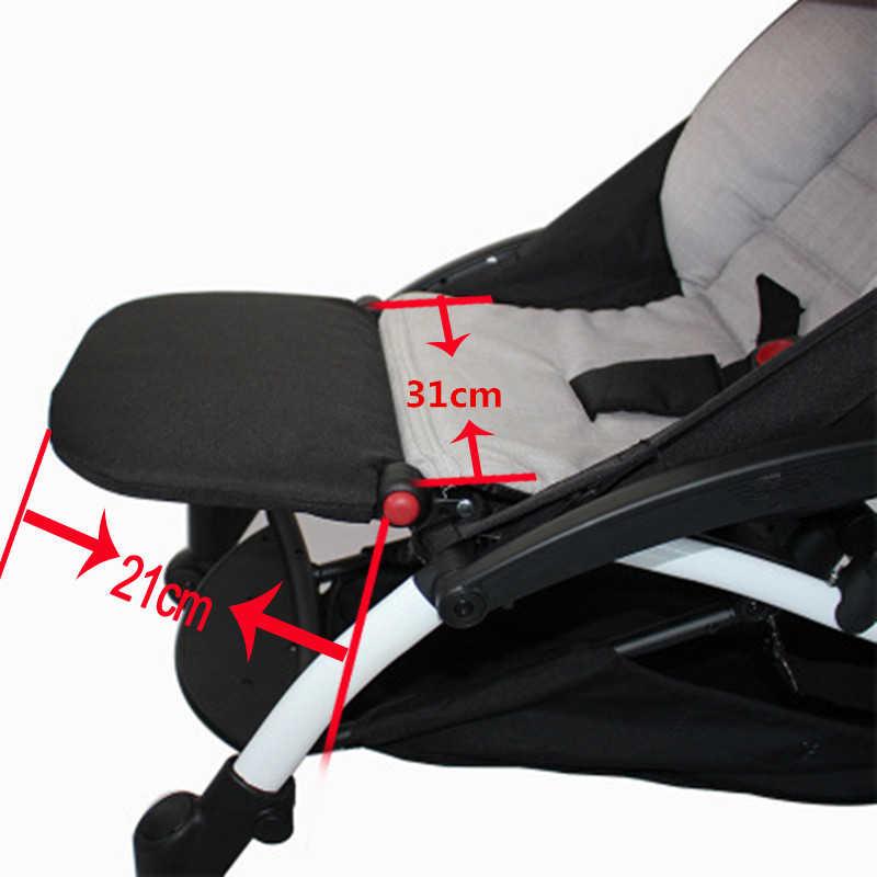 Akcesoria do wózka babyzen Yoyo Yoya Yuyu stóp stóp dla dziecka wózek dla dziecka wózek 21 cm stóp teleskopowy wózek pedał