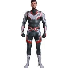Avengers Endgame Quantum Realm Cosplay Costume Adult Superhero Men Halloween For Jumpsuit Suit