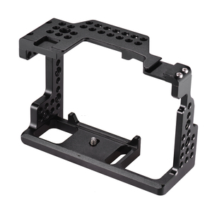 Image 5 - Andoer Camera Cage Video Film Movie Making Stabilizer 1/4 Inch Screw with Cold Shoe Mount for Sony A7II/A7III/A7SII/A7M3/ Camera