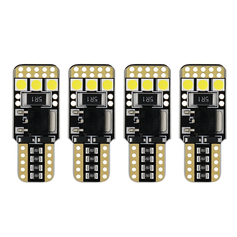 4 Pcs Auto Styling Auto Weiß Led T10 194 W5W Canbus 6Smd 3030 Led-lampe Kein Fehler Led Parkplatz Licht auto Seite Licht