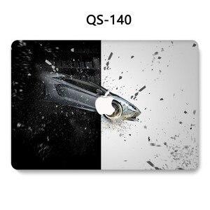 Image 4 - Pour MacBook Air Pro Retina 11 12 13.3 15.4 pouces pour ordinateur portable MacBook Case pour pochette pour ordinateur portable avec écran protecteur clavier Cove