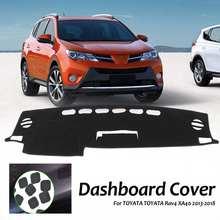 Car Styling Dashmat Anti Slip Dashboard Cover Mat Sun Shade Dash Board Cover Carpet for Toyota 2013-2018 Rav4 XA40