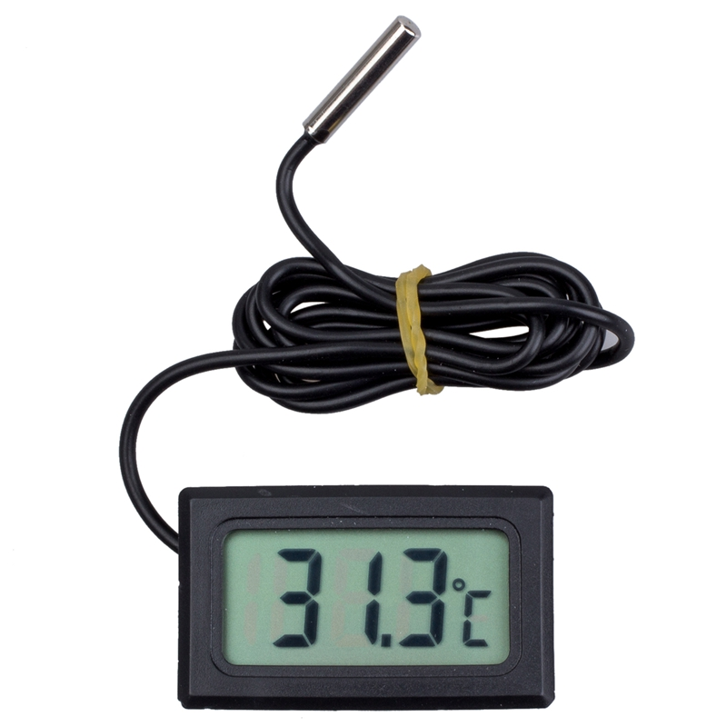 Digital Thermometer with LCD for Fridges Freezers