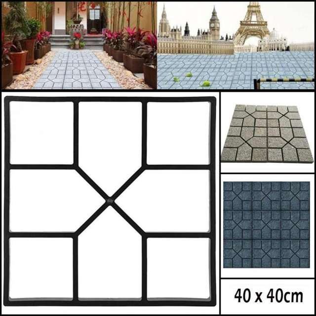 Mold Manual Paving Cement Brick Stone Path Paving Tool for Garden