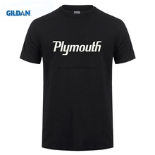 GILDAN Clothes Normal Tees Hip Family O Neck Black Plymouth Cuda 1970 Men T Shirt Big Sizes