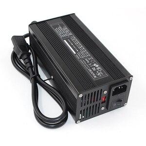 Image 4 - 43,8 V 8A LiFePO4 Batterie Ladegerät Für 12S 36V LiFePO4 Batterie Ladegerät Aluminium Shell Smart Ladegerät