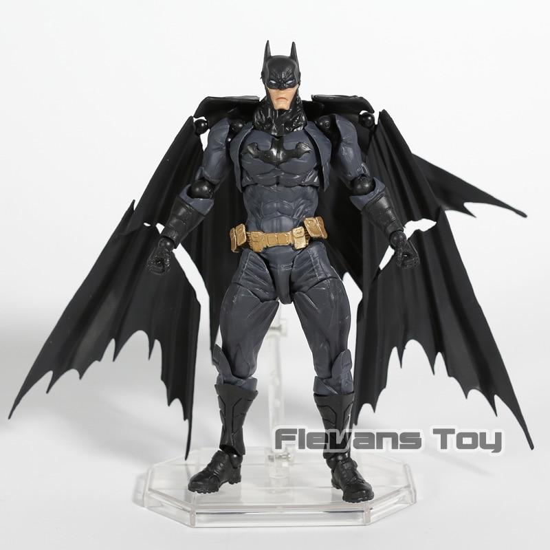 Revoltech Amazing Yamaguchi No.009 Batman PVC Action Figure Collectible Model Toy guerre moderne lego
