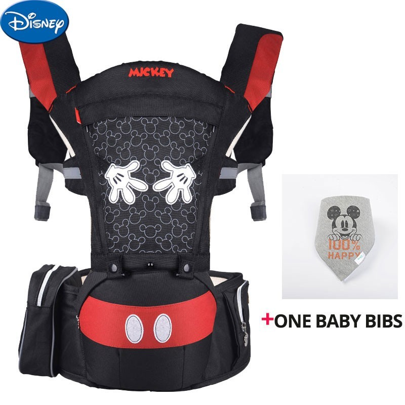 Disney Breathable Ergonomic Carrier Backpack Portable Infant Baby Carrier Hipseat Heaps With Sucks Pad Baby Sling