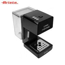 Рожковая кофеварка Ariete 1363 Matisse черный, компактный корпус, 900 Ватт, объм резервуара 1 литр, возможность приготовления капучино