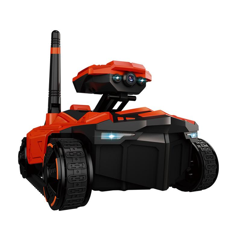 ATTOP YD-211 RC Tank with HD Camera Wifi FPV 0.3MP Camera App Remote Control Tank RC Toy Phone Controlled Robot