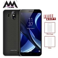 HOMTOM S16 18:9 Edge Less Display Android7.0 Smartphone MTK6580 Quad Core 5.5 3000mAh 2GB RAM 16GB 13MP Fingerprint Cell phone