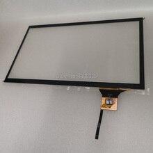 Емкостный сенсорный экран 10,1 дюйма IIC 6 P Универсальный интерфейс соотношение 16:9 для 1280×720/1024X600/800X480 разрешение