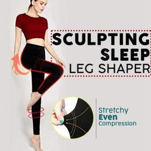 Image 2 - 脚整形 3D 切断ヒップリフト脂肪燃焼女性レギンス加圧ソフト弾性女性のパンツストレッチボディシェイパースリム