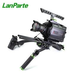 LanParte Ursa Mini Pro Camera Basic Kit Rig Extension Arm Shoulder kit for Blackmagic