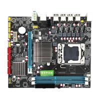 X58 RX LGA 1366 Motherboard Dual DDR3 Slot Support REG ECC Server Memory and Xeon For RX580 RX570 Core i7 Gaming Motherboard