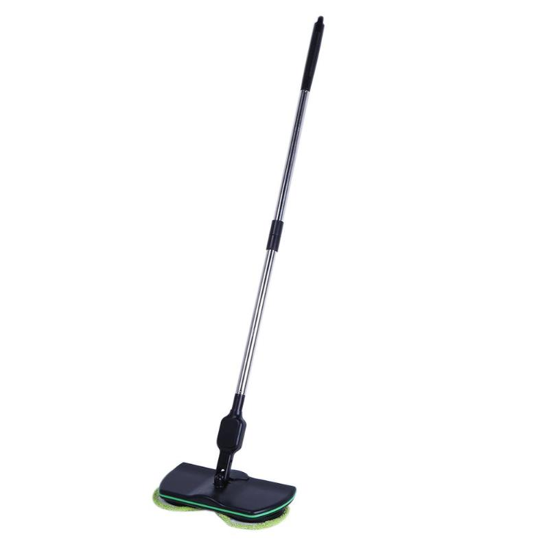 Stainless Steel Chargeable Electric Mop Hand Push Sweeper portable Cordless Household Cleaning Tools Sweeping Machine Eu Plug