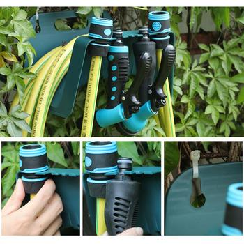 1psc New Hots All Wall Mounted Garden Hose Pipe Holder Bracket Fit Cable Storage Hanger Shed Fence 1