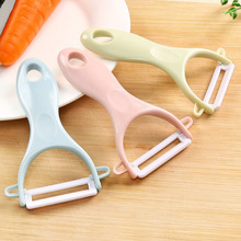 цена на Peeler household ceramic fruit knife multi-function apple peeling knife peeler fruit and vegetable multi-purpose paring knife