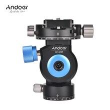 Andoer GT-20R панорамирования/наклона головка из алюминиевого сплава штатив монопод Глава 360 градусов вращающийся для Canon sony фотокамеры Nikon видеокамеры DSLR
