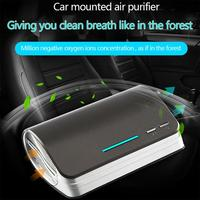 Air Purifier Multifunctional Car Mounted Sanitizer Fresher Remove Dust Pollen For Household Auto Accessories