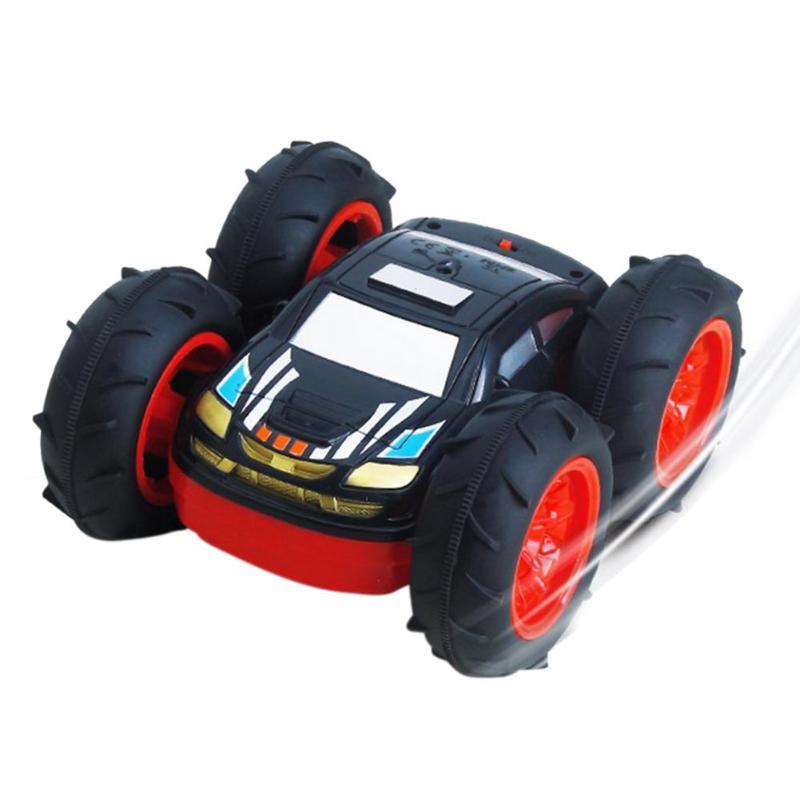 Enfants 360 degrés Rotation voiture RC 6 V 700 mAh charge Double face cascadeur voiture véhicules enfants télécommande véhicules modèles jouet