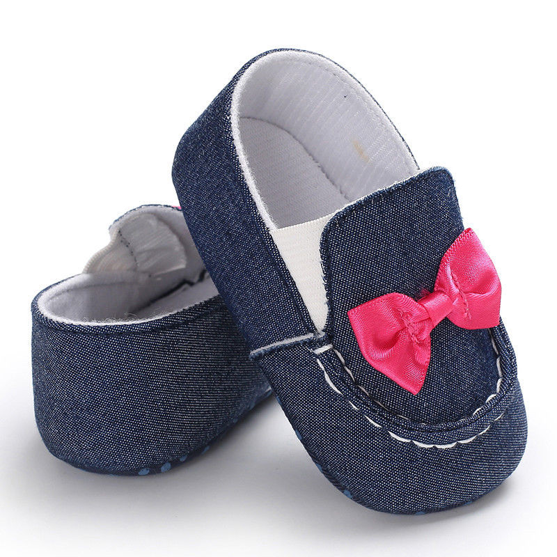 Newborn Unisex Baby Canvas Walking Shoes First Walkers Infant Boy Girls Crib Shoes Baby Moccasins Newest 2019
