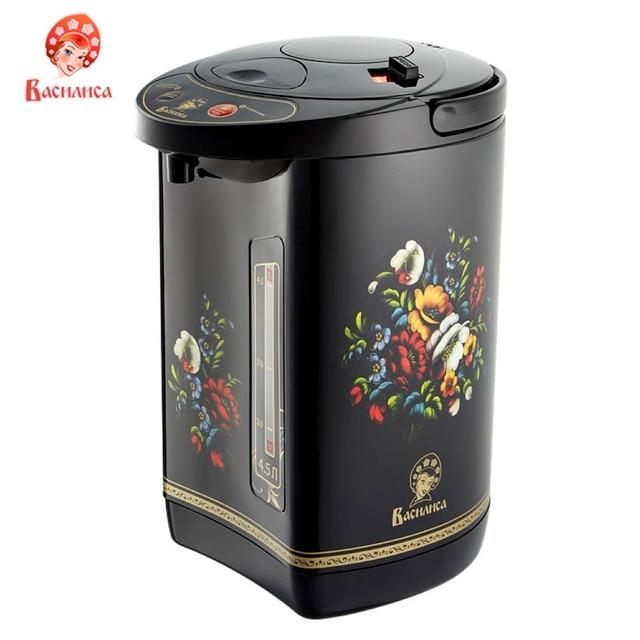 Чайник-термос ВАСИЛИСА ТП5-900 объем-4,5 литра, Мощность 900 Вт, 3 способа подачи воды