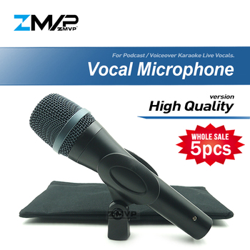 5pcs/lot High Quality E935 Professional Live Vocals Wired Microphone Karaoke Super-Cardioid Dynamic Microfone Microfono Mike Mic