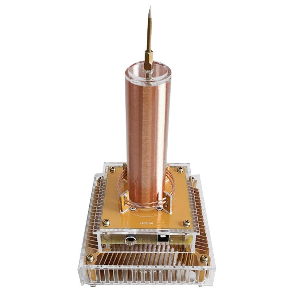 Électronique multifonctionnelle musique Audio Mini Tesla bobine Module Plasma haut-parleur Tesla Transmission sans fil son solide Science