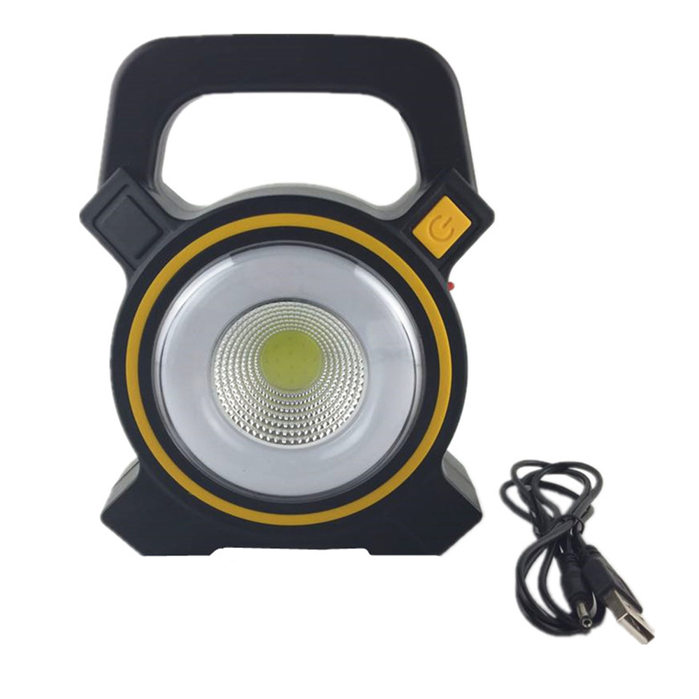 Access Control Solar Portable Rechargeable Emergency Searchlight Led Camping Light Outdoor Work Spot Lamp Access Control Kits