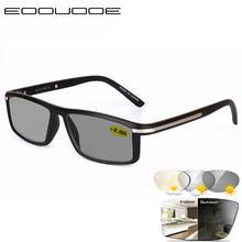 Мужские фотохромные очки для чтения с диоптриями