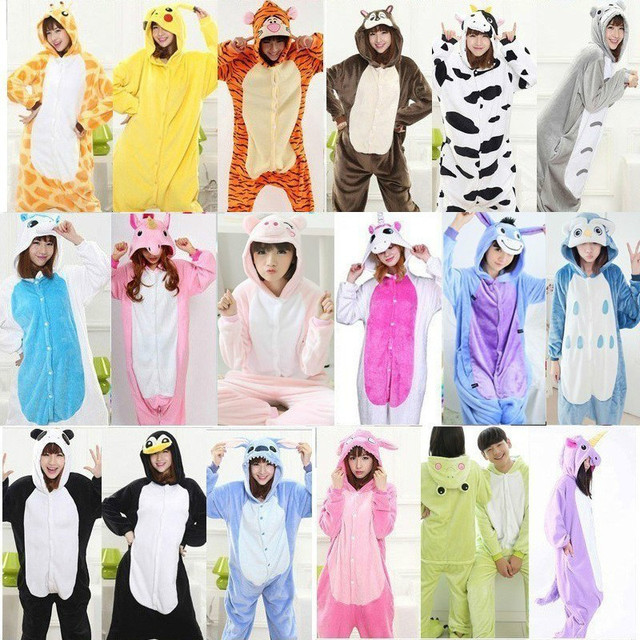 kigurumi 2019 onesies for adults kigurumi Sleepwear Totoro Pajamas  unicornio Warm Sleepwear Onesie female Jumpsuit Pijama b2f80db70