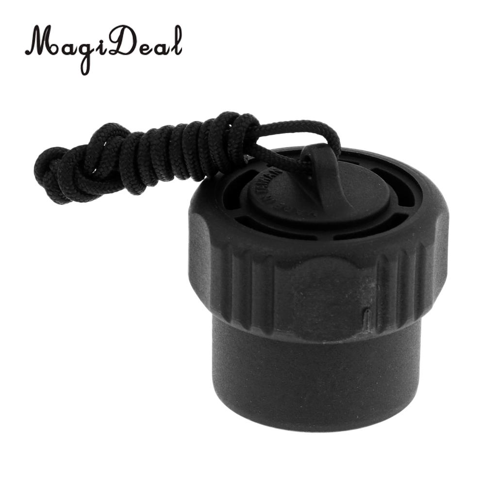 MagiDeal Lightweight Scuba Diving First 1st Stage DIN Regulator Tank Valve Threaded Dust Plug Cap For Snorkeling Water Sports