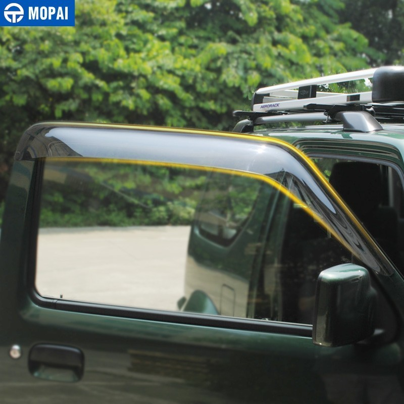 Image 3 - MOPAI Awnings Shelters Cover for Suzuki Jimny 2007 2017 Resin Car Weather Shields Windshield Window Visors Car Accessories-in Awnings & Shelters from Automobiles & Motorcycles